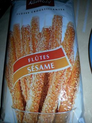 Flûtes sesame - Product