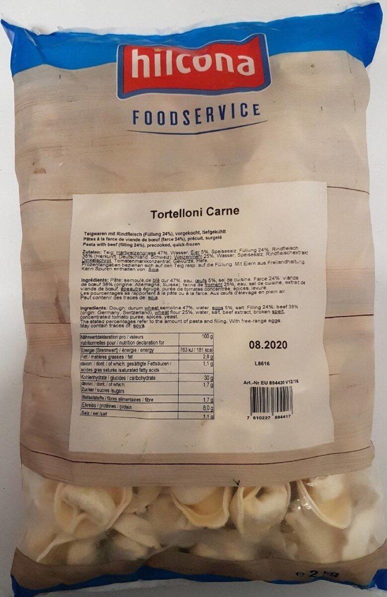 Tortelloni carne - Produit - fr