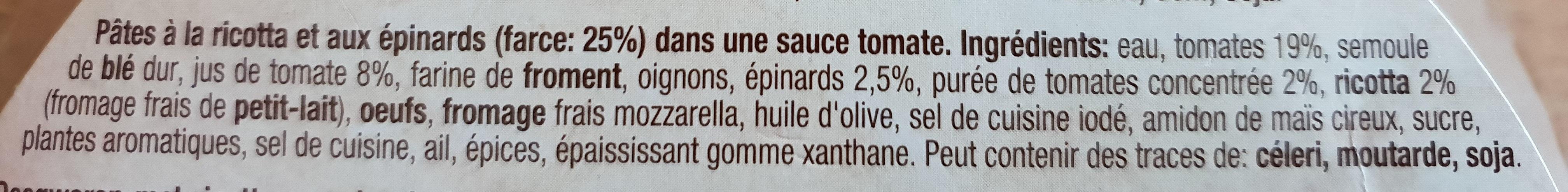 Tortelloni napoli - Ingredients
