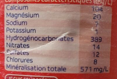 Hennier - Nutrition facts - fr