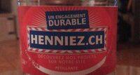 Henniez Gazeuse Rouge - Product - fr