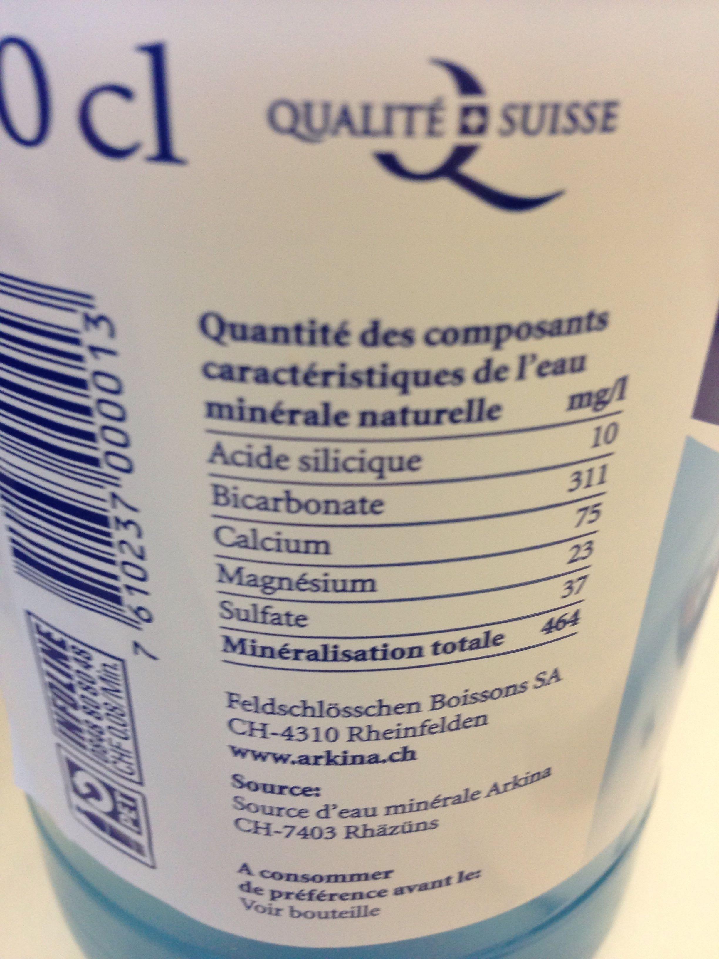 Eau Minerale - Product
