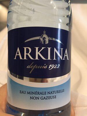 Arkina, Natürliches Mineralwasser - Product - fr