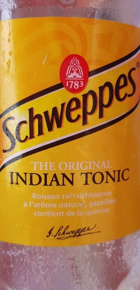 Schweppes Indian Tonic - Prodotto - fr
