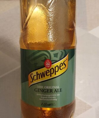 The Original Ginger Ale Refreshing Drink with Ginger Extract