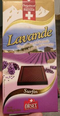 Chocolat noir à la lavande - Product - fr
