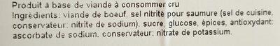 Viande séchée de boeuf - 3