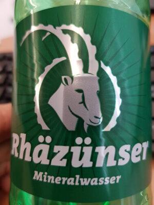 Rhäzünser Mineralwasser - Product