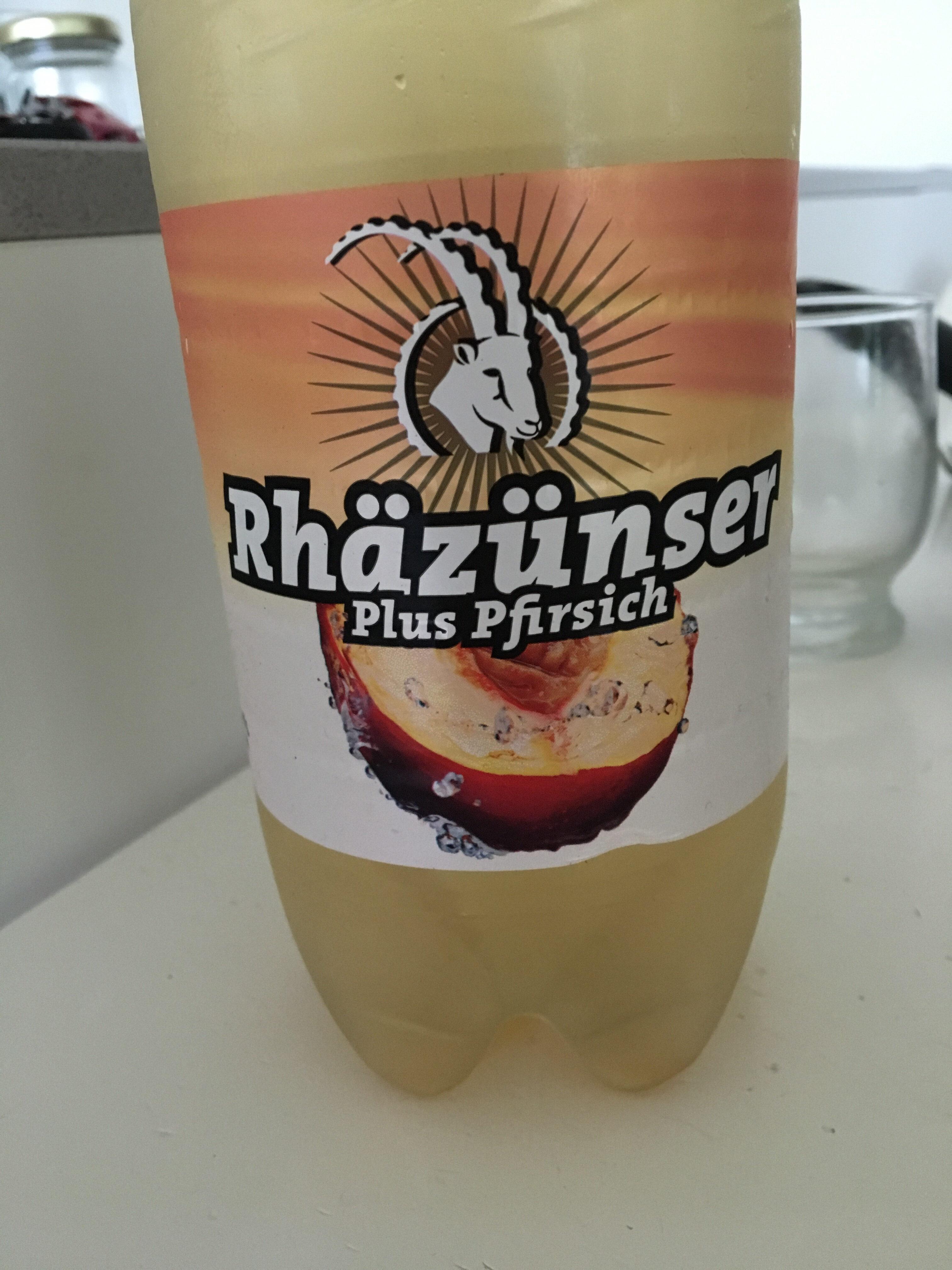 Rhäzünser plus pfirsich - Prodotto - de