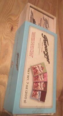 Assortiment de 16 Mini-Tablettes de Chocolat - Produit - fr