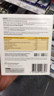 Azucar de Paraguay : Sucre de canne en bûchettes - Ingrédients - fr