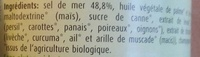 Herbamare bouillon - Ingredients - fr