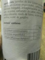 Linoforce - Nutrition facts
