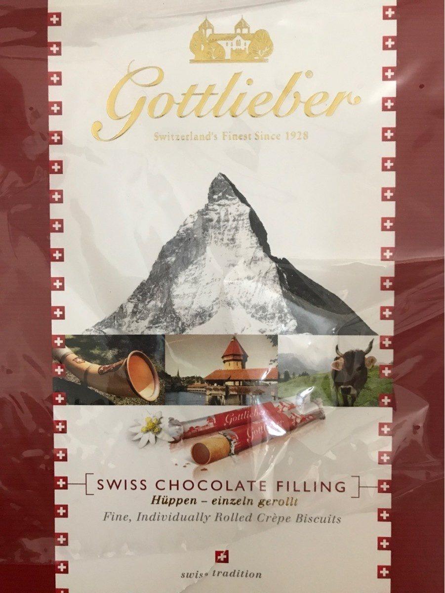 Crepes ectra fines fourees au chocolat - Product