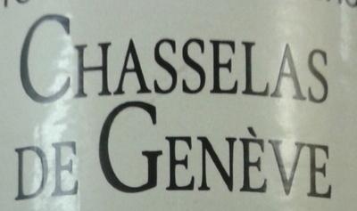 Chasselas de Genève - Ingredients
