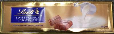Swiss premium chocolate - Extra au lait - Prodotto - fr