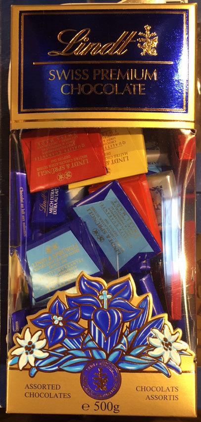 Chocolats suisses assortis - Produit - fr