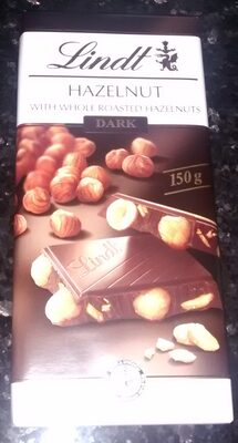 Lindt Chocolate Bar Dark Hazelnut - Product - en