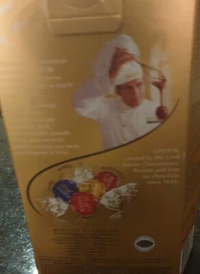 Lindt Lindor Assorted Chocolates - Nutrition facts - fr