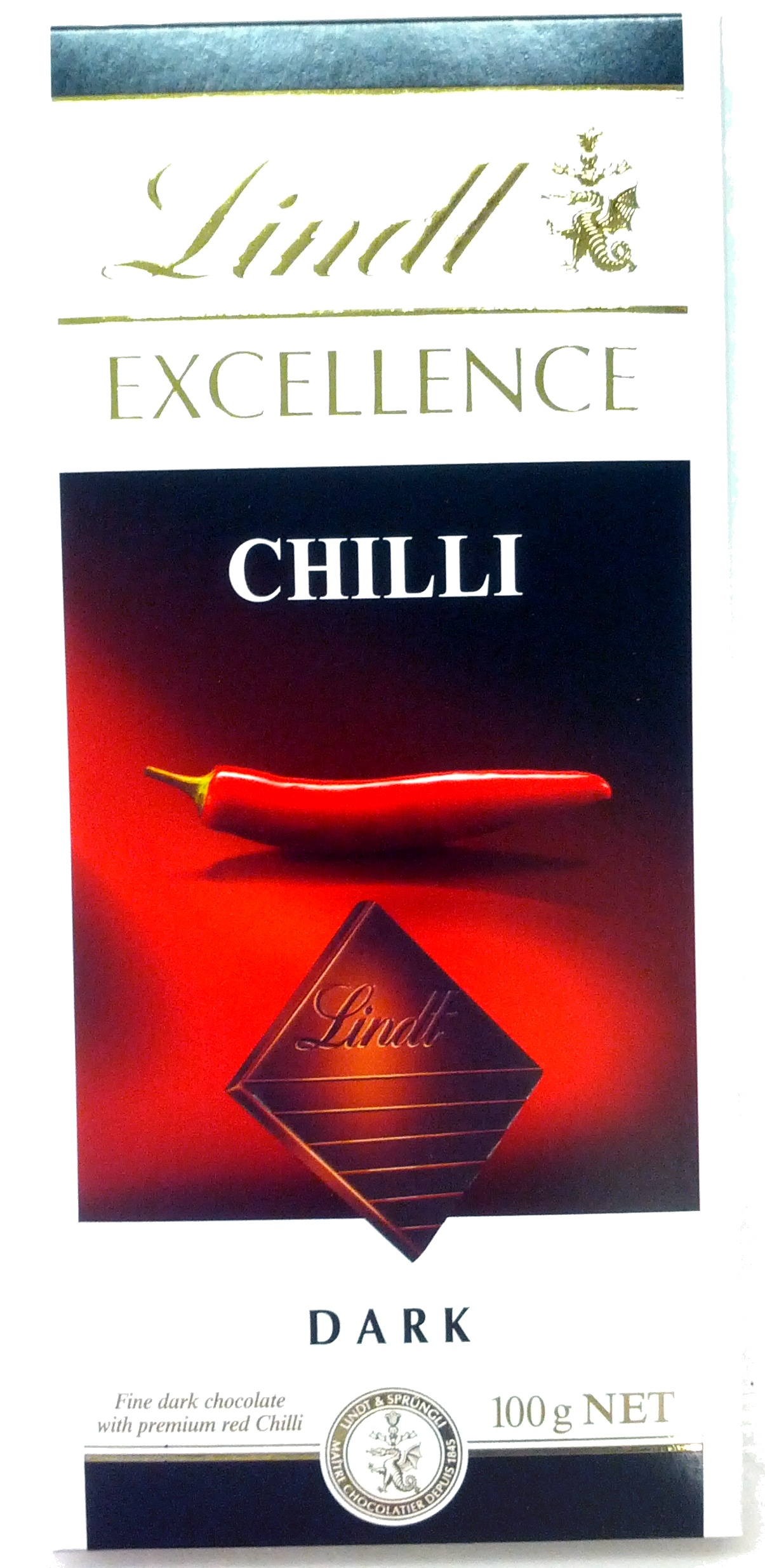 Dark chocolate chilli - Product
