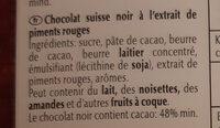 Excellence Dark Chilli - Ingredienser - fr