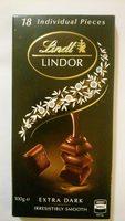 Lindor Extra Dark - Product - en