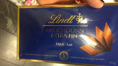 Tablettes ultra fines au chocolat au lait extra fin - Produit - fr