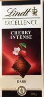 Lindt Excellence Chocolate Bar Dark Cherry Intense 100G - Prodotto - fr