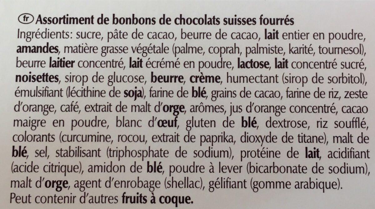 Connaisseurs - Ingrediënten - fr