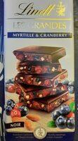 Lindt Les Grandes Myrtille - Producto - fr