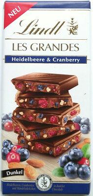 Heidelbeere & Cranberry Dunkel - Product