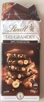 34% hazelnut dark chocolate - Produit - en