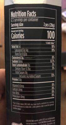 Bombones Jack Daniel's - Nutrition facts