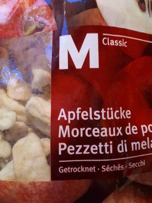 Morceaux de pomme séchés - Produit - fr