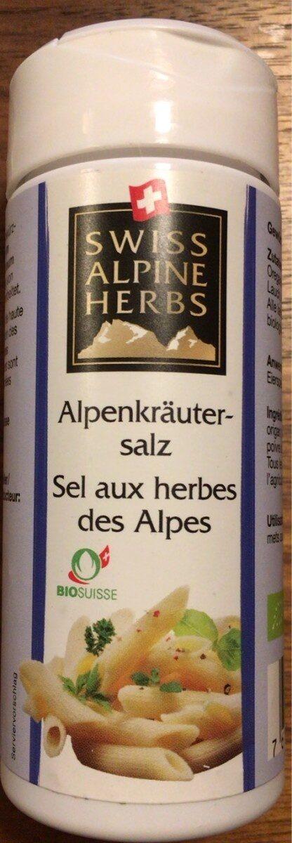 Sel aux herbes des Alpes - Produkt - de
