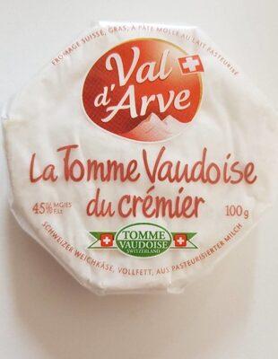 La Tomme Vaudoise du Crémier - Prodotto