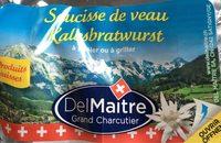 Saucisse de veau kalbsbratwurst - Product - fr