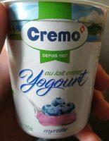 Yogourt myrtille Cremo® - Produit