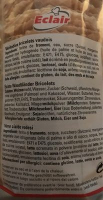 Eclair Saveur & Tradition Bricelets l'original - Ingredients