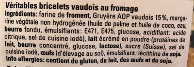 Bricelets salés - Ingredients