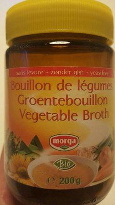 Morga Morga Groentebouillon Z Gist - Produit