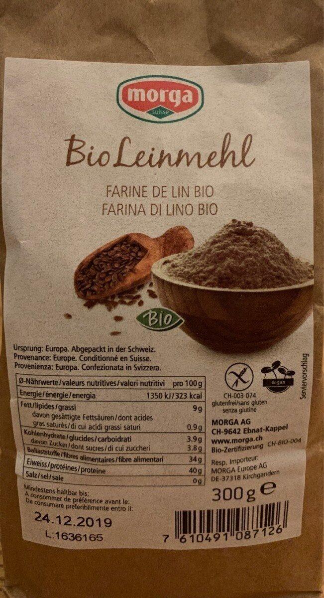 Farine de lin Bio - Product - fr