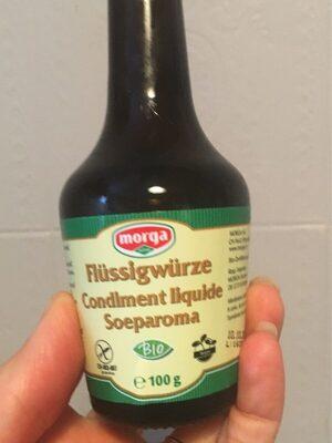 Condiment Liquide Bio ? 100G ? Morga - Product - fr