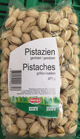 Pistaches grillées/salées - Produit
