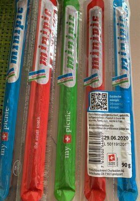 Minipic snack - Valori nutrizionali - fr