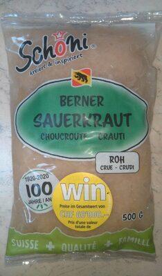 Berner Sauerkraut Roh - Prodotto - de