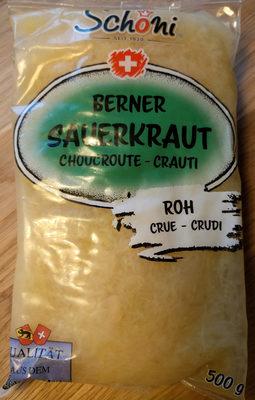 Berner Sauerkraut - Product - de