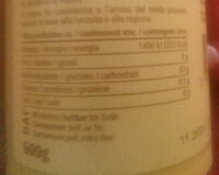 Miele di Toscana - Informazioni nutrizionali - fr