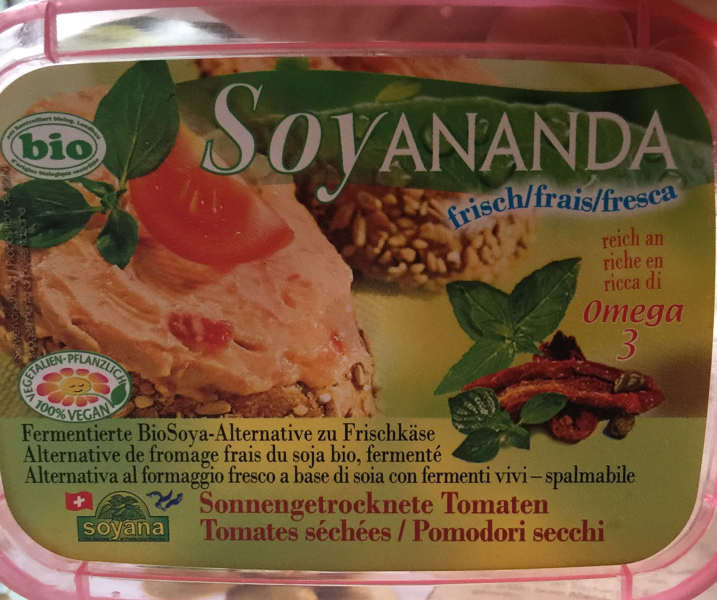 Soyananda frais omega 6 tomates séchées - Product - fr