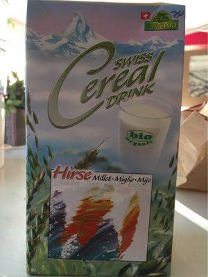 Boisson Au Millet Bio Swiss Cereal-drink - - Soyana - Informations nutritionnelles